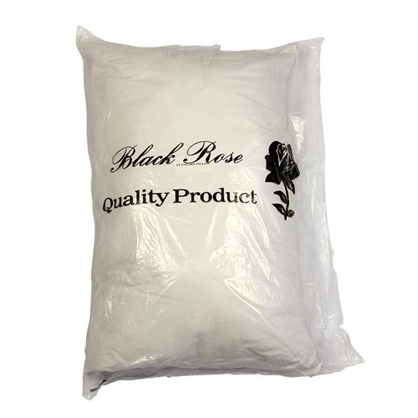 Black Rose Standard Pillow
